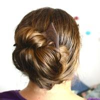 Hairpin in hair