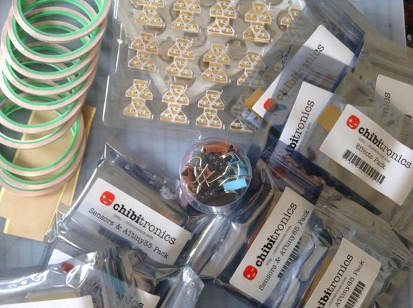 Chibitronics Materials